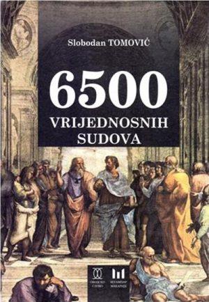 6500 VRIJEDNOSNIH SUDOVA