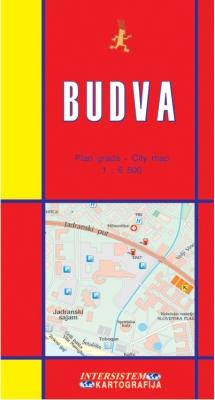 BUDVA - Plan grada