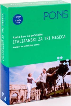 ITALIJANSKI ZA TRI MESECA - Audio kurs