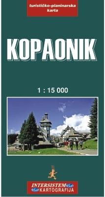 KOPAONIK - Turistička karta