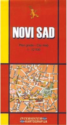 NOVI SAD - AK VOJVODINA - Plan grada