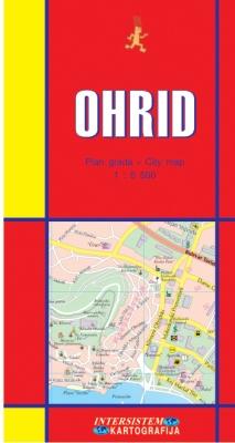 OHRID - Plan grada
