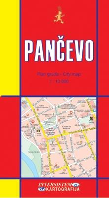 PANČEVO - Plan grada