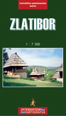ZLATIBOR - Turistička karta
