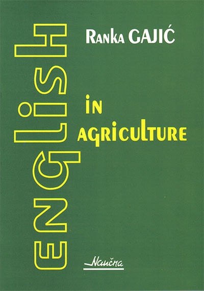 ENGLISH IN AGRICULTURE