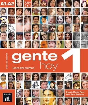 GENTE HOY 1 - LIBRO DEL ALUMNO + CD