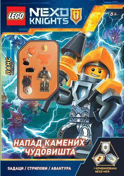 LEGO NEXO KNIGHTS - NAPAD KAMENIH ČUDOVIŠTA