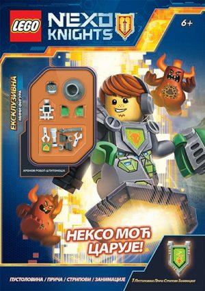 LEGO, NEXO KNIGHTS - NEKSO MOĆ CARUJE!