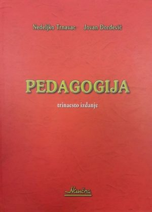 PEDAGOGIJA - Udžbenik za nastavnike