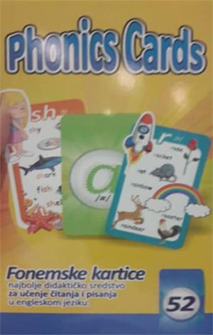 PHONICS CARDS / FONEMSKE KARTICE