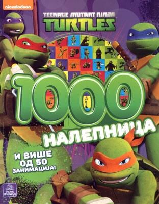 TMNT - 1000 nalepnica