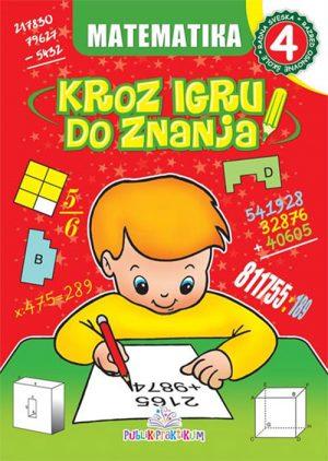 Matematika 4: Kroz igru do znanja - bosanski