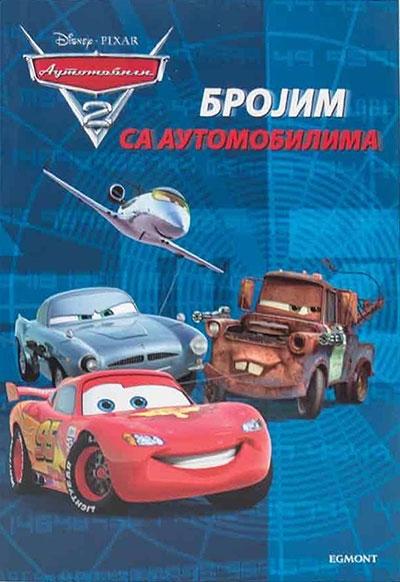 Disney automobili - brojim sa automobilima