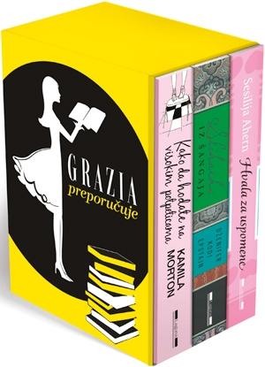 Grazia preporučuje - komplet od tri knjige