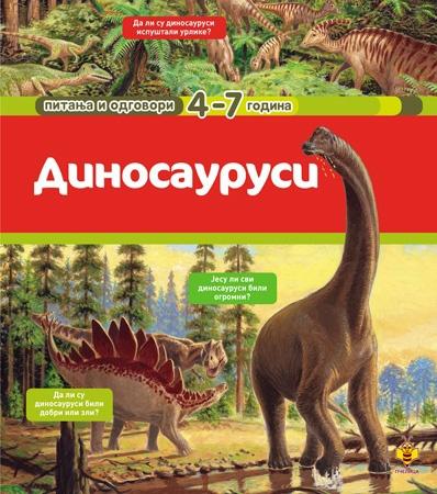 Dinosaurusi pitanja i odgovori 4-7 godina