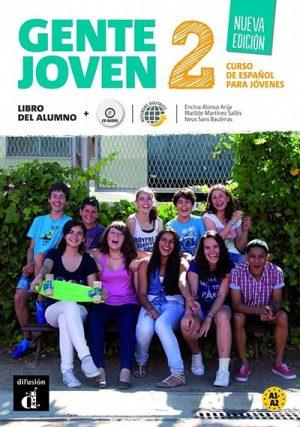 Gente joven 2 nueva edition libro del alumno + cd