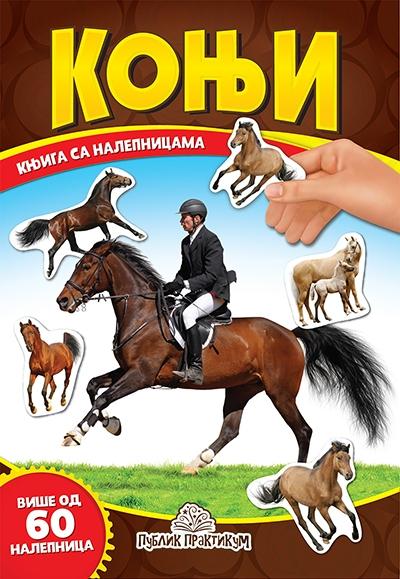 Konji - knjiga sa nalepnicama