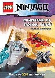 Lego Ninjago - Pripremi se, pozor, lepi! 212 nalepnica