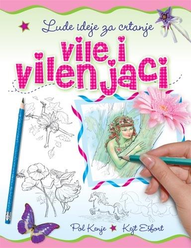 Lude ideje za crtanje - Vile i vilenjaci