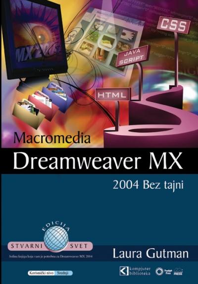Macromedia Dreamweaver MX 2004 - bez tajni