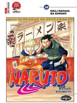 Naruto 16 - Kraj napada na Konohu
