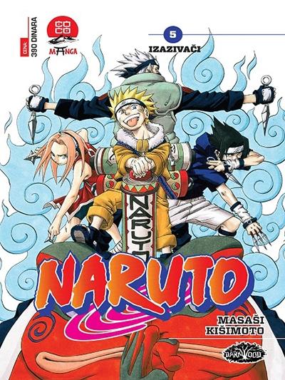 Naruto 5 - Izazivači