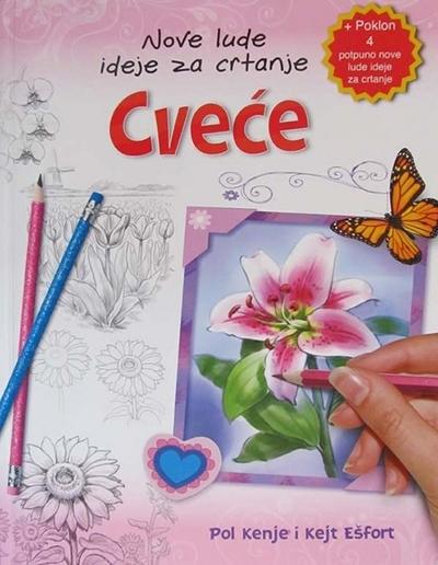 Nove lude ideje za crtanje - Cveće