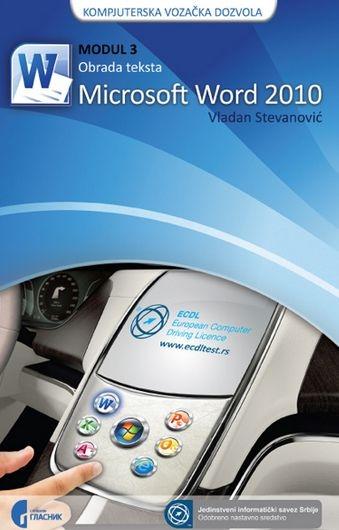 ECDL modul 3: obrada teksta Microsoft Word 2010