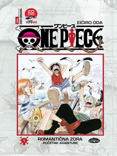 One Piece 1: Romantična zora