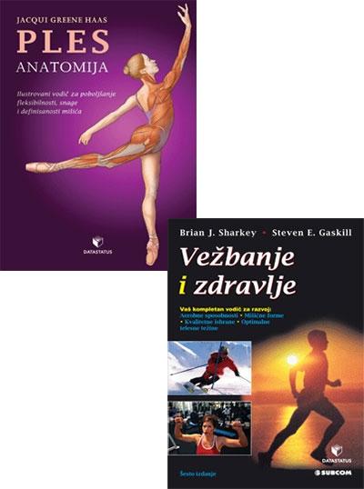 Paket: ples: anatomija + vežbanje i zdravlje