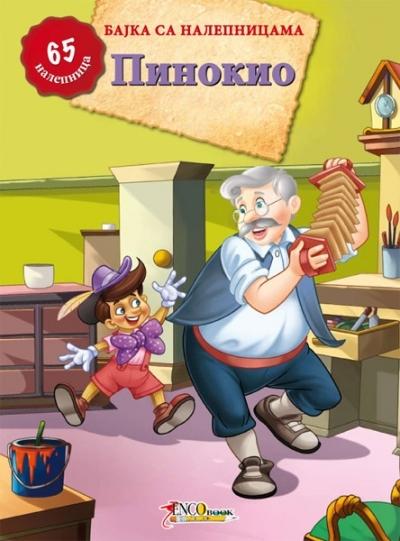 Pinokio - bajka sa nalepnicama