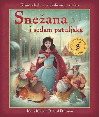 Snežana i sedam patuljaka knjiga iskakalica