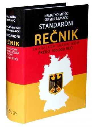 Nemačko-srpski i srpsko-nemački standardni rečnik sa gramatikom