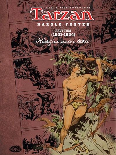 Tarzan: nedeljne kolor table Harolda Fostera 1