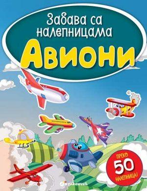 Zabava sa nalepnicama - Avioni