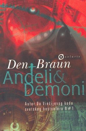 Anđeli i demoni-broš