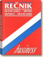 Business rečnik - (francusko-srpski/srpsko-francuski)