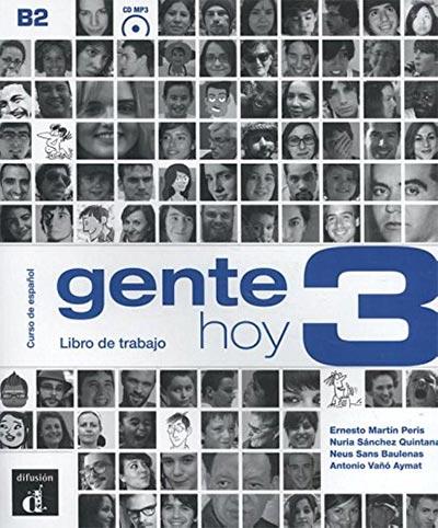 Gente hoy 3 b2: libro de trabajo + cd