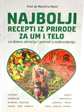 Najbolji recepti iz prirode za um i telo - za dobro zdravlje i pomoć u ozdravljenju