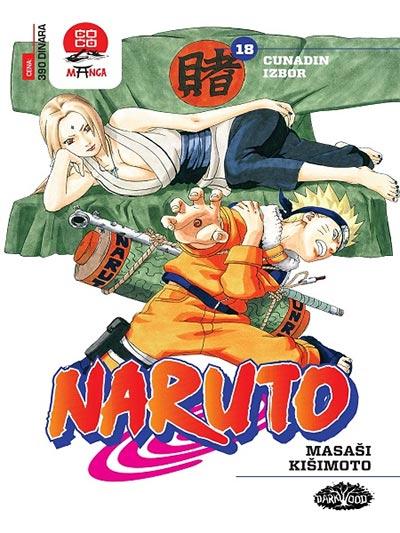 Naruto 18 - Cunadin izbor