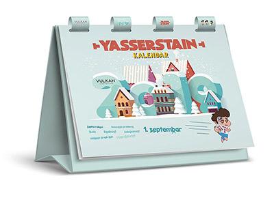 Yasserstain kalendar, 2019