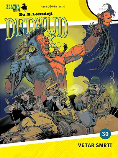 Zlatna serija 30 - Dedvud Dik: Vetar smrti (korica A)