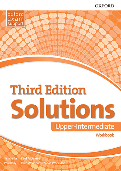 Engleski jezik 3, Solutions 3rd edition Upper-intermediate, radna sveska za treći i četvrti razred srednje škole