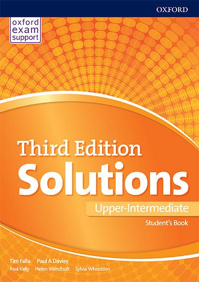 Engleski jezik 3, Solutions 3rd edition Upper-intermediate, udžbenik za treći i četvrti razred srednje škole
